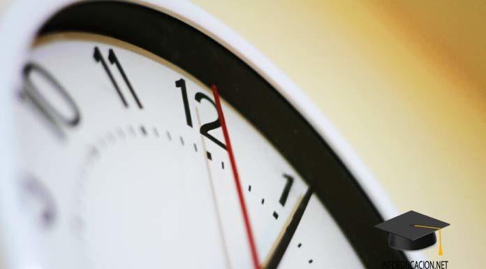 estudio del tiempo