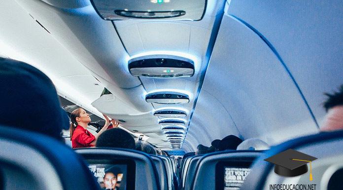 ser azafata de vuelo