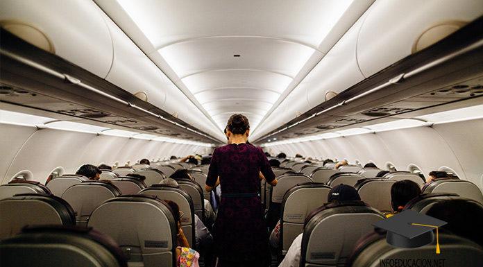 como ser auxiliar de vuelo